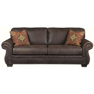 Ashley Furniture Baltwood - Espresso Queen Sofa Sleeper