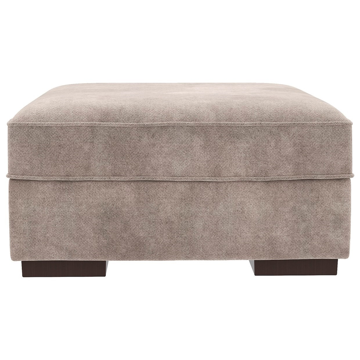 Storage Cocktail Ottoman with Removable Top
