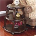 Signature Design by Ashley Furniture Brookfield Drum Table - Item Number: T496-2