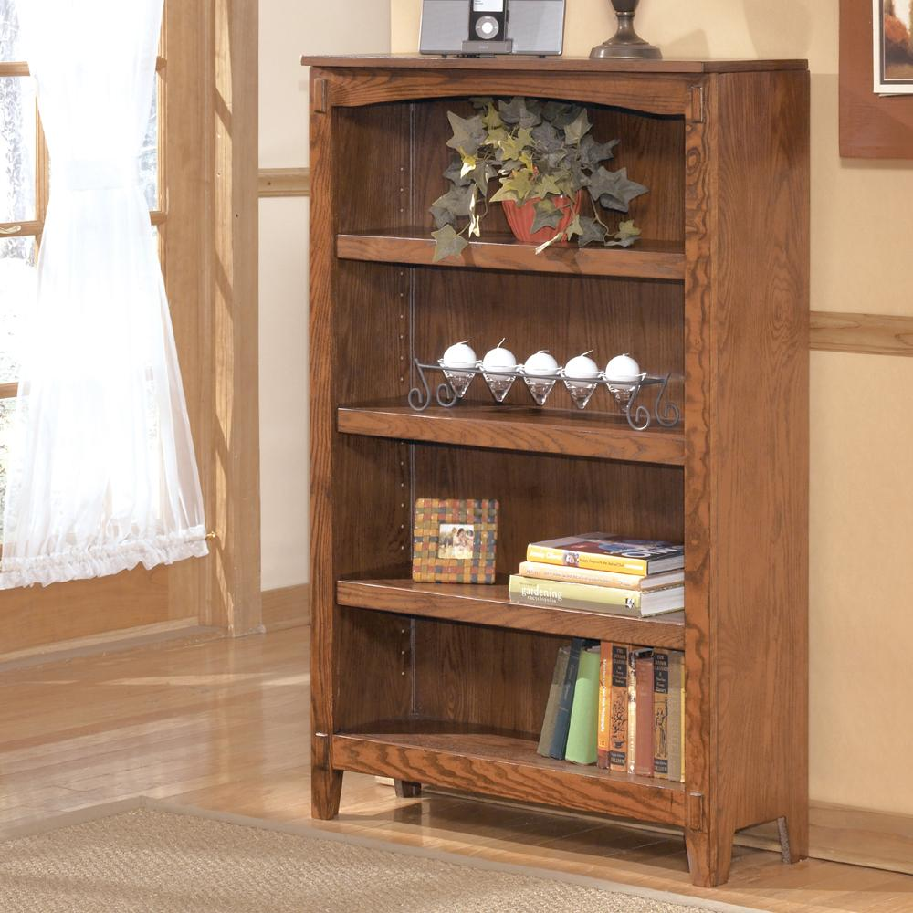 Medium Bookcase By Ashley Furniture Wolf And Gardiner Wolf Furniture