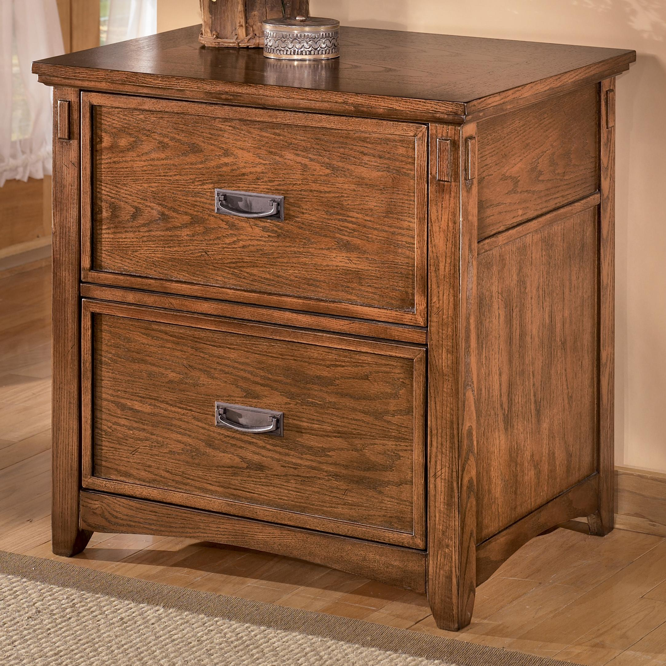 Mission 2 Drawer Lateral File By Ashley Furniture Wolf And Gardiner Wolf Furniture