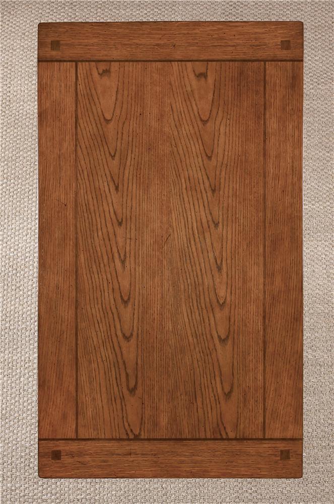 Oak Large Leg Desk by Ashley Furniture : Wolf and Gardiner Wolf Furniture