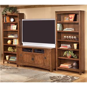 60 Inch TV Stand & 2 Large Bookcases