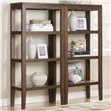 Signature Design by Ashley Furniture Deagan Pier Bookcase with 3 Shelves - Shown used as set of two piers