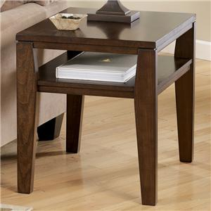 Signature Design by Ashley Furniture Deagan Rectangular End Table