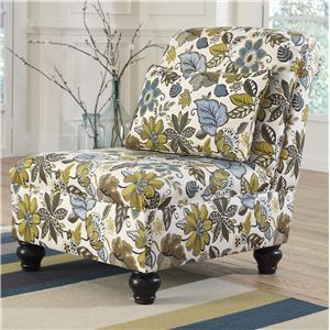 Ashley Furniture Hariston - Shitake Armless Chair