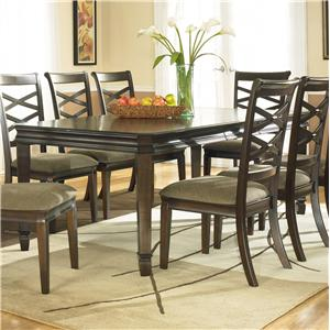 Signature Design by Ashley Furniture Hayley Rectangular Extension Table
