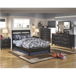 Ashley Furniture Kira Full Bedroom Group
