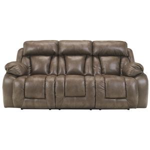 Ashley Furniture Loral - Sable Reclining Sofa