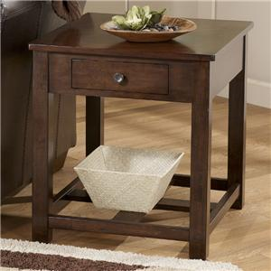 Signature Design by Ashley Marion Rectangular End Table