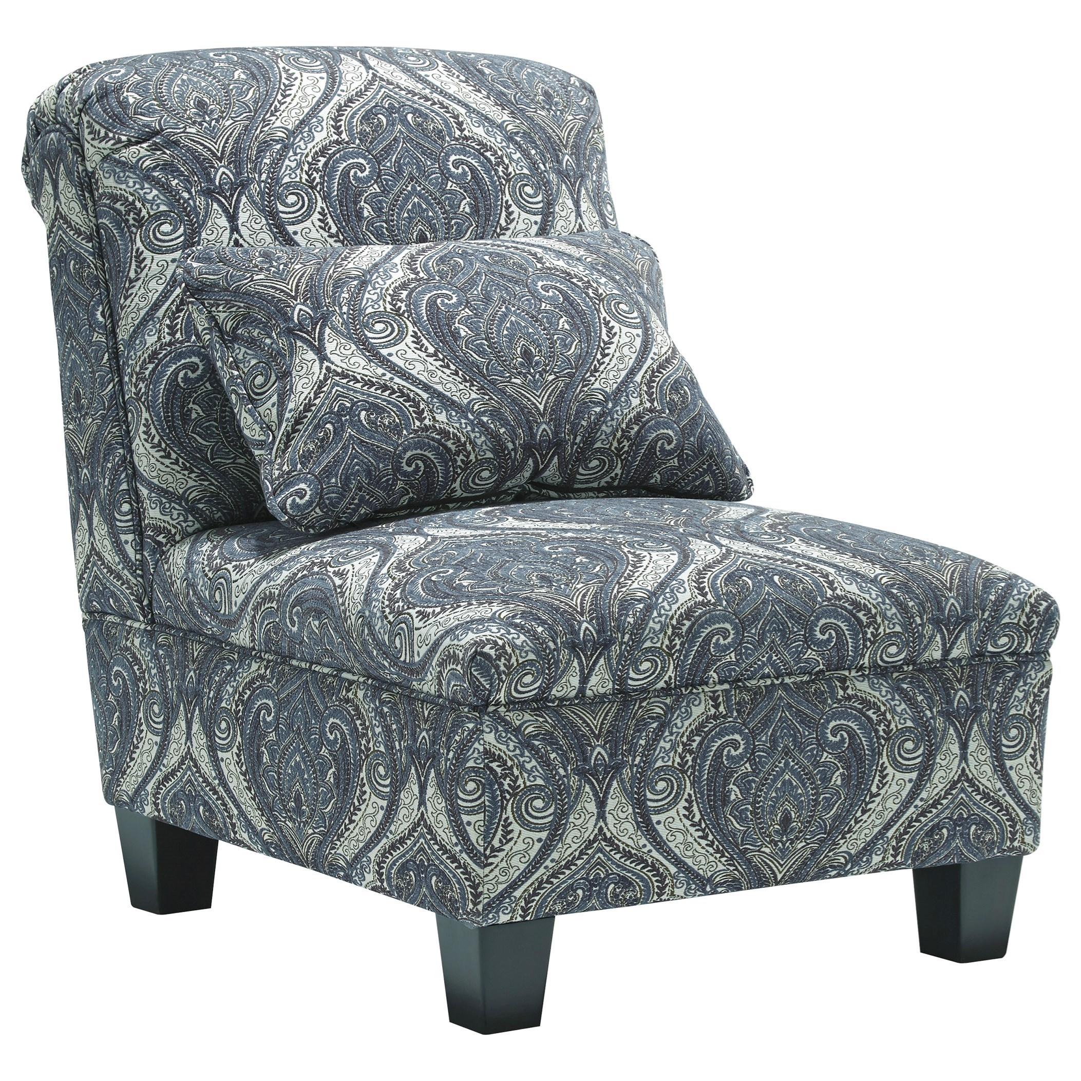 paisley furniture. Armless Chair With Paisley Pattern Furniture R
