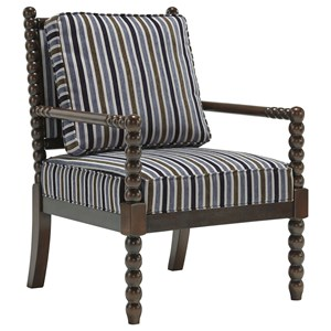 Accent Chair with Spindle Styling