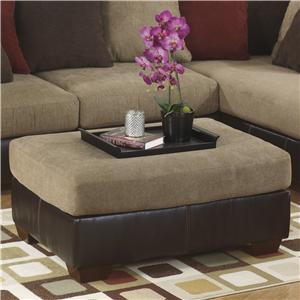 Ashley Furniture Sanya - Mocha Oversized Accent Ottoman