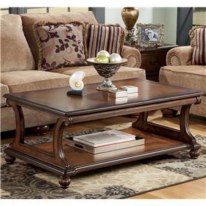 Signature Design by Ashley Furniture Shelton Rectangular Cocktail Table