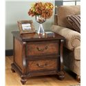 Signature Design by Ashley Shelton Rectangular End Table - Item Number: T489-3