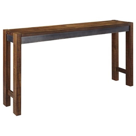 Rustic Long Counter Table