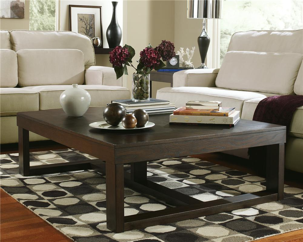 Rectangular Coffee Table By Signature Design By Ashley Wolf And