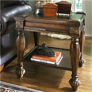 Ashley (Signature Design) Mantera Square End Table