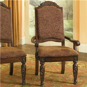 Millennium North Shore Upholstered Arm Chair