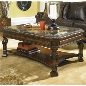 Signature Design by Ashley Furniture Casa Mollino Rectangular Cocktail Table