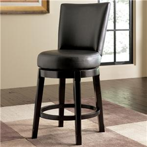 Millennium Emory 24 inch Uph Bar Stool w/ Swivel