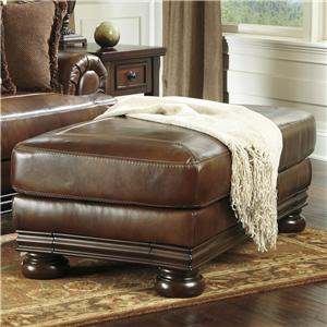 Ashley (Signature Design) Hutcherson Traditional Ottoman