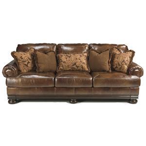 Signature Design by Ashley Hutcherson Traditional Sofa