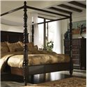 Millennium Key Town  King Poster/Canopy Bed - Shown with Chest