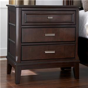 Millennium Larimer Three Drawer Night Stand