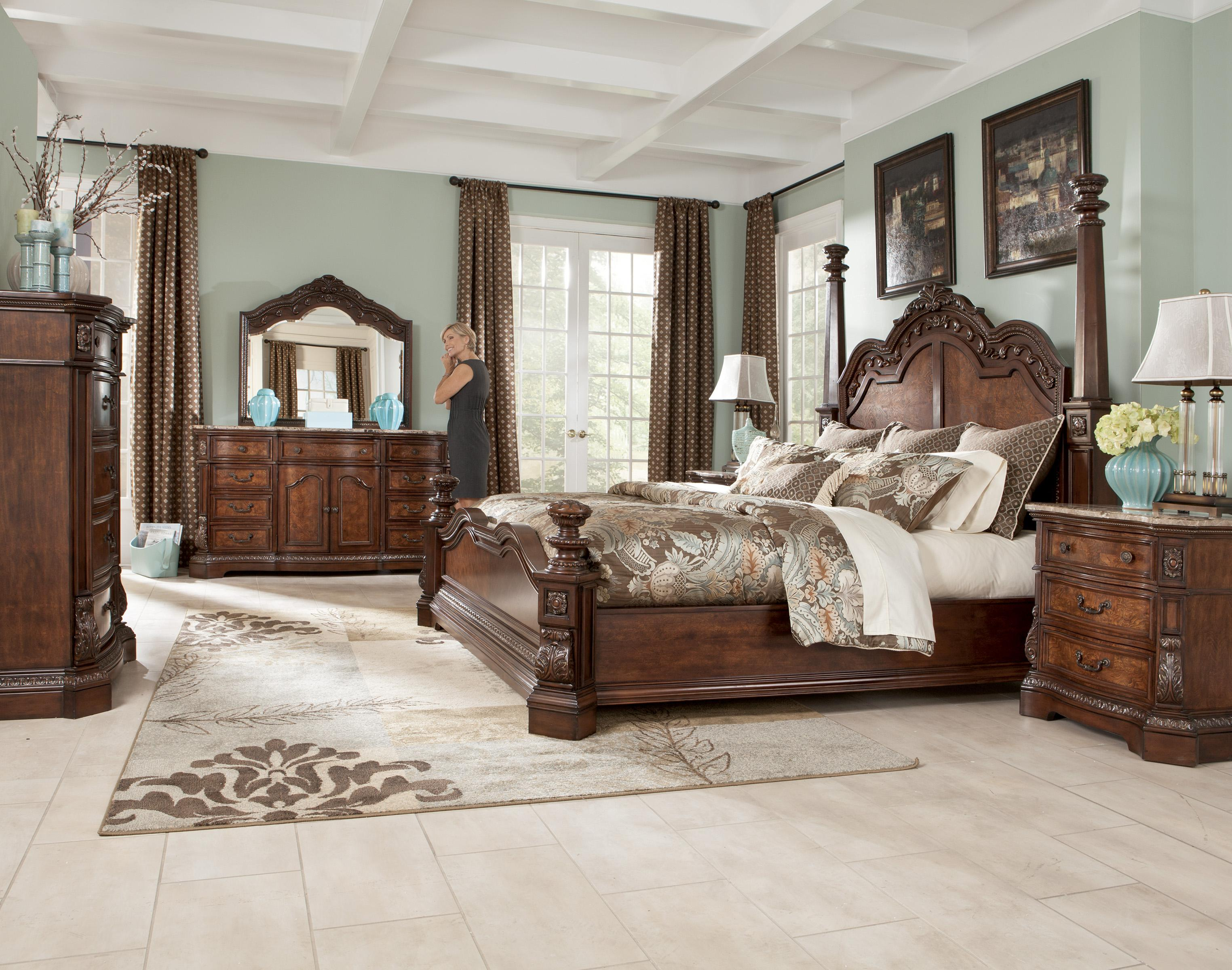 Bedroom Furniture With Marble Tops serpentine shape dresser with natural marble parquetry top