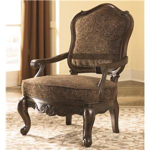 Millennium North Shore - Dark Brown Upholstered Chair