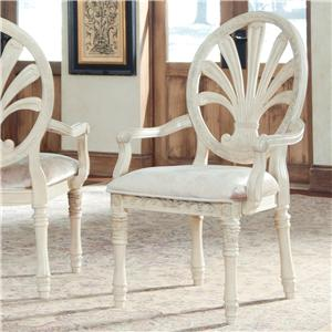 Millennium by Ashley Ortanique Dining UPH Arm Chair