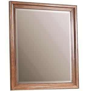 Rectangular Mirror with Beveled Edges