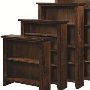 "Aspenhome Alder Grove Bookcase 60"" Height with 3 Shelves"