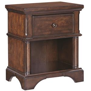 Aspenhome Bancroft 1 Drawer Nightstand