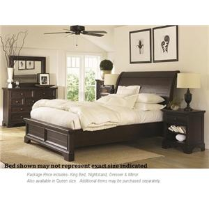 Aspenhome Bayfield 4PC King Bedroom Group