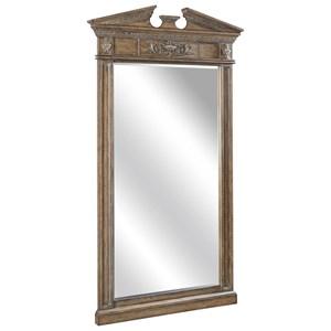 Greek-Inspired Floor Mirror