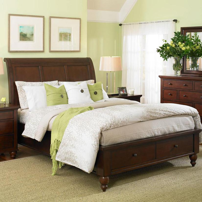 headboard upholstered set elm sleigh bed products o west