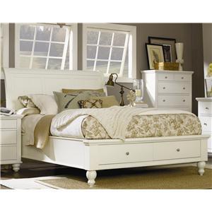 Aspenhome Cambridge King Storage Sleigh Bed