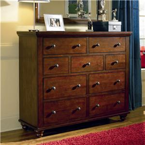 Aspenhome Cambridge Chesser with 9 Drawers