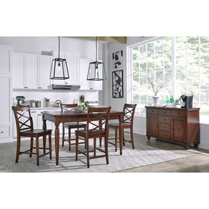 Aspenhome Cambridge 5 Pc. Pub Table Set
