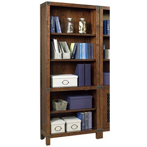 Open Bookcase with 4 Shelves