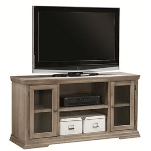 "Aspenhome Canyon Creek 55"" TV Console with 2 Doors"