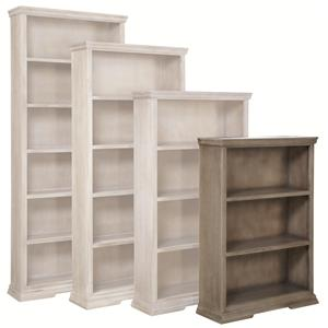 48-Inch Bookcase with 2 Fixed Shelves