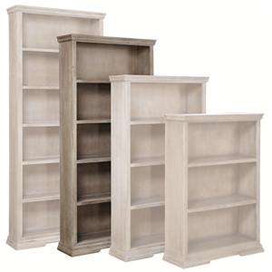 "Aspenhome Canyon Creek 72"" Bookcase with 4 Fixed Shelves"