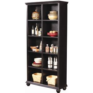 Aspenhome Casual Traditional 77-Inch Bookcase