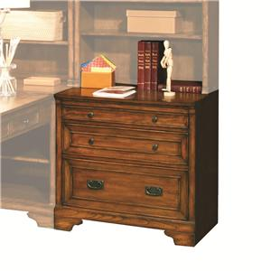 Aspenhome Centennial 32-Inch Drawer/File Unit