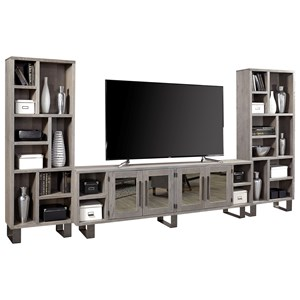 Contemporary Wall Unit with 96