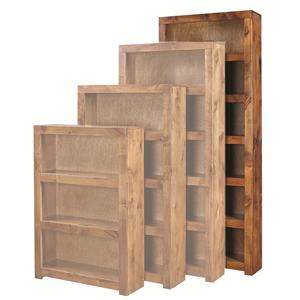 Aspenhome Contemporary Alder 84 Inch Bookcase