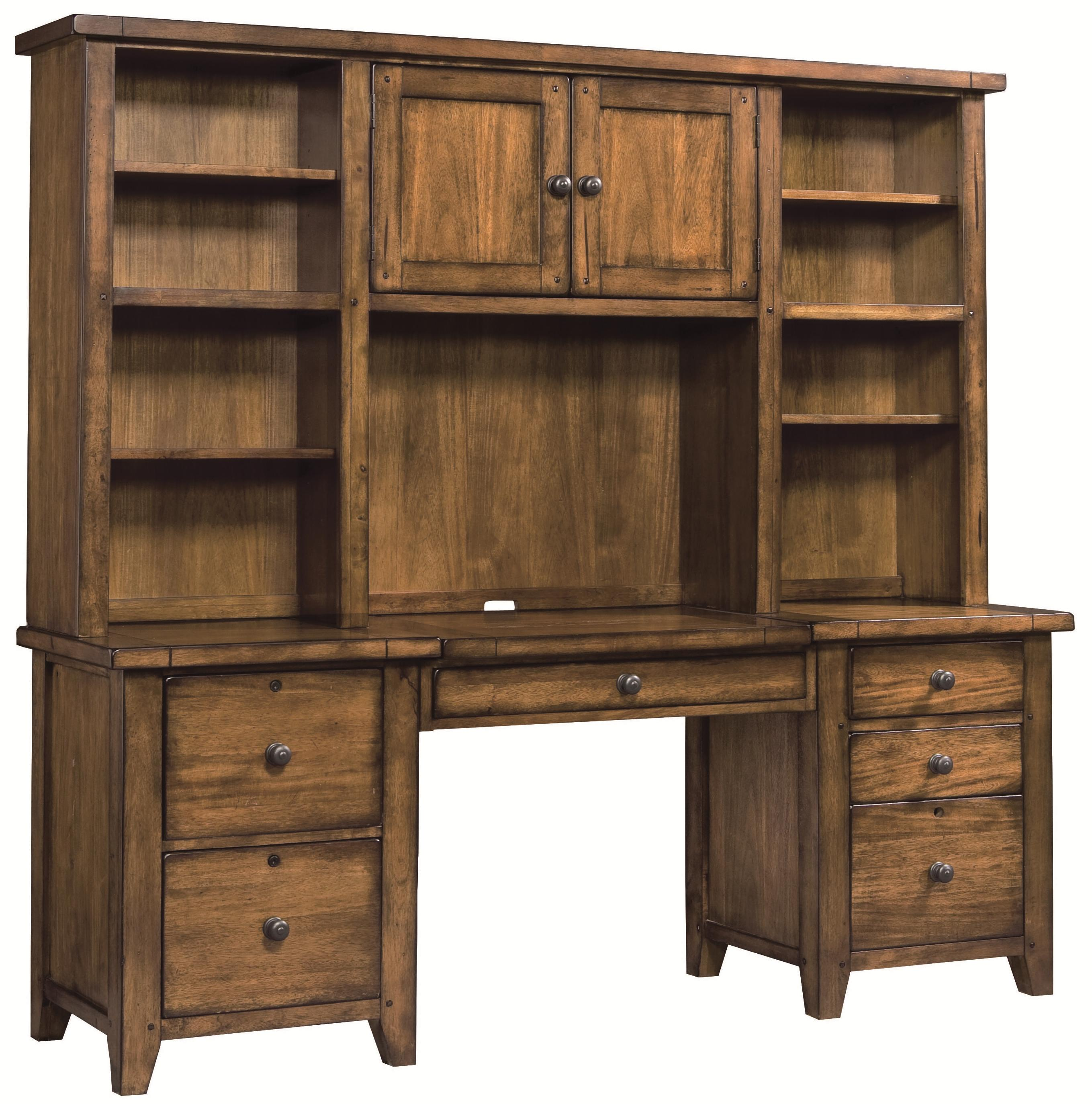 desk with ashley short product and ash furniture credenza the hutch sarvanny
